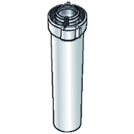 White ALU/PVC duct - UBBINK : 227351