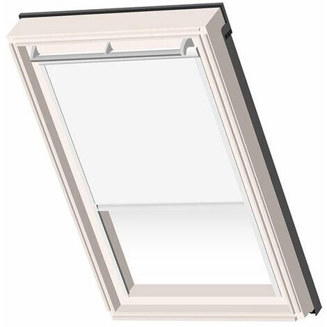 Velux ® Compatible Blackout Blind CK02 – White – White frame