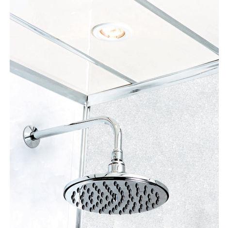 White Diamond Stone 2400 x 1000mm Shower Panel