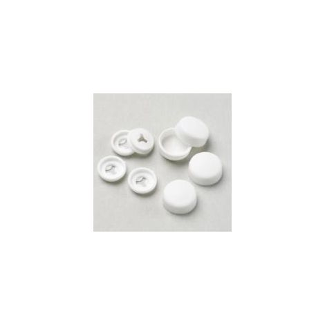 White Fixing Caps/Washers (Pack of 50)