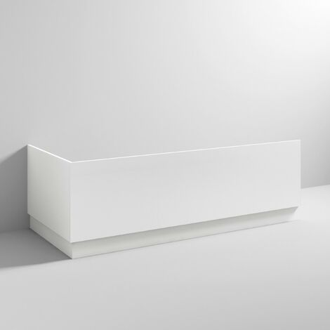 White Gloss 700mm Bath End Panel & Plinth