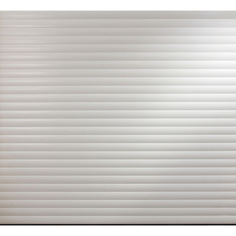 White Insulated Roller Garage Door for 2400 to 2449mm width