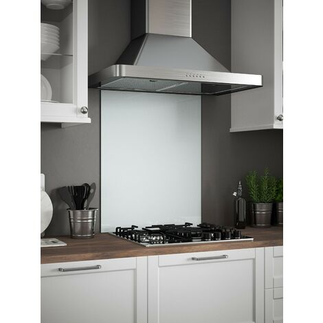 White Mist Glass Kitchen Splashbacks - different dimensions available