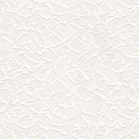 White Paintable Blown Vinyl BOX OF 6 Textured Wallpaper Cracked paste the paper