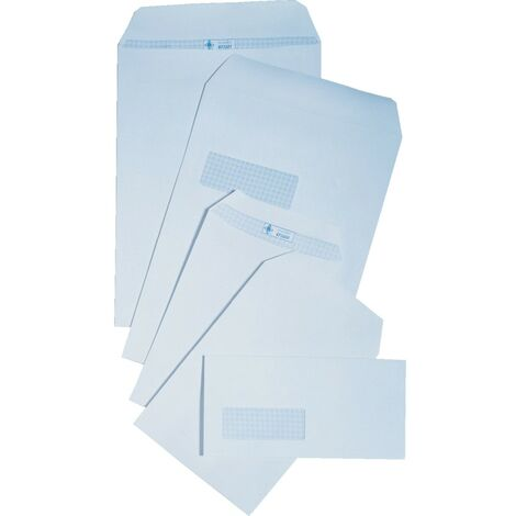 White Self Seal Pocket Envelopes