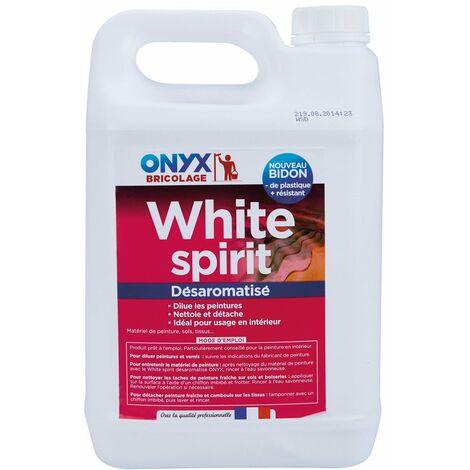 White spirit désaromatisé bidon 5 l