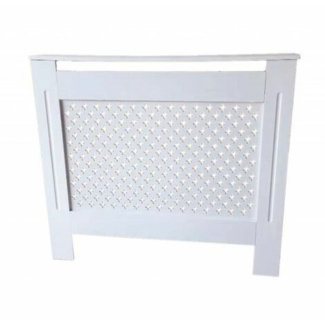 White Traditional Painted Radiator Cover