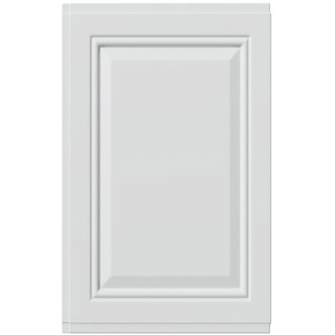 White Tudor 750mm End Panel