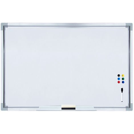 Whiteboard 60x90CM Magnetic board + accessories Magnetic board Memoboard Pin board Wall board
