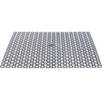 Whitefurze SILVER Square Sink Mat Drainer Protects Sinks From Scuff Marks