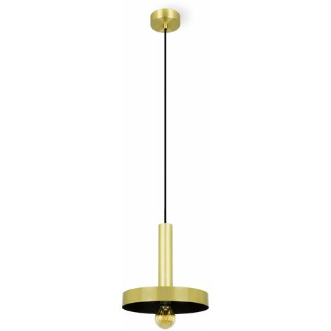 WHIZZ gold pendant light 1 bulb
