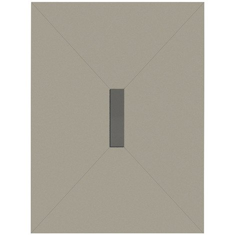 WholeSeal Wetroom 1200mm x 900mm x 30mm Rectangular Shower Tray Former with Centre 300mm Linear Waste Outlet