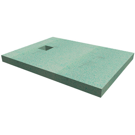 WholeSeal Wetroom 1400mm x 900mm x 90mm Rectangular Shower Substrate with Square Waste Outlet