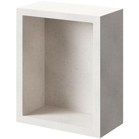 WholeSeal Wetroom 420mm x 350mm x 180mm Waterproof Recess Storage Unit