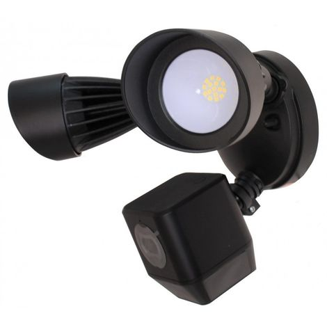 Wi-fi Floodlight Camera Pro - 1080P Cameras - 1800 Lumens Light - Chime - Dog Bark & Recording [002-2300]
