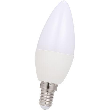 "main image of ""Wi-Fi inteligente Bombilla RGB + W + C LED bulbo de la vela 5W E14 regulable Luz Telefono APP Smartlife / Tuya control remoto compatible con Alexa Google Inicio Tmall Elf para el Control de Voz, 1 paquete"""