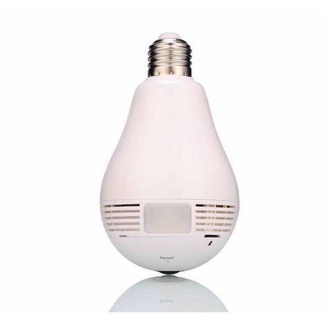 Wi-Fi (IP) CCTV Covert Camera in a Light Bulb [002-1540]