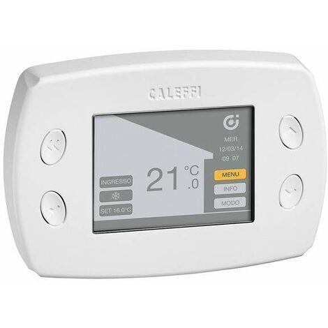 WiCAL® - Centrale de régulation multi-zone à ondes radio caleffi 210100 | blanc