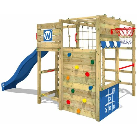 Climbing frame WICKEY Smart Victory with slide