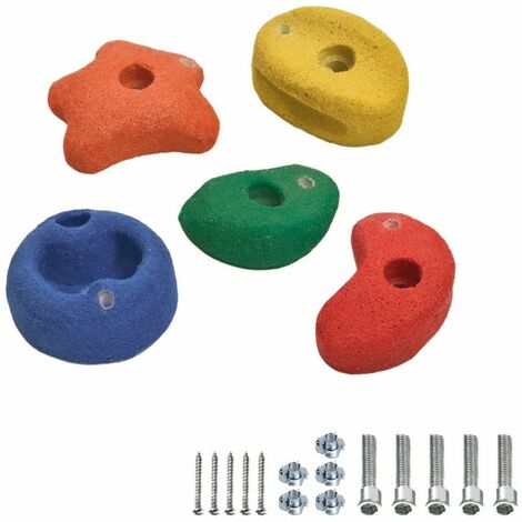 WICKEY Climbing Stones 90mm multicolour for climbing frames