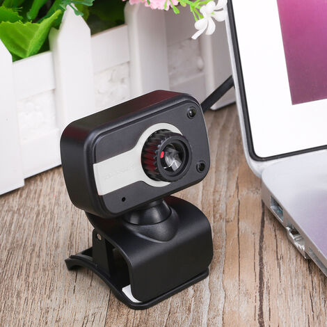 Wide Angle Large View Video Conference Camera, 640*480 Full HD Live Streaming Web Cam