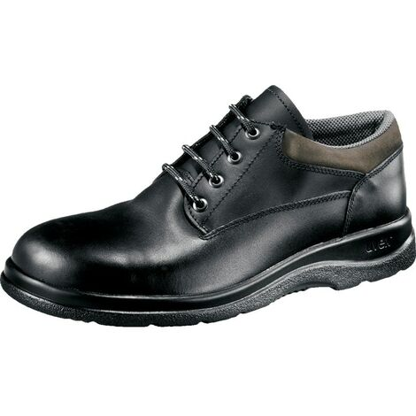 Wide Fit Black Safety Shoes