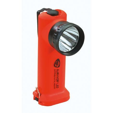 Wiederaufladbare Taschenlampe knieförmig STREAMLIGHT SURVIVOR LED ATEX Zone 1 175 lumens