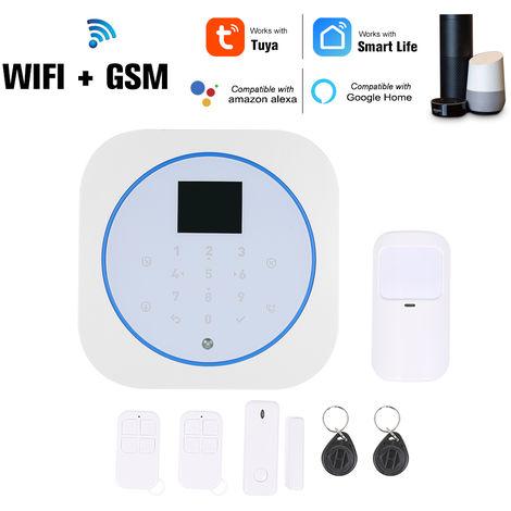 Wifi del sistema de alarma GSM, Intercom control remoto, para Amazon Alexa control por voz