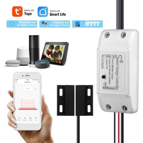 WIFI Garaje controlador Abridor de puerta, interruptor de elevacion Telefono de control remoto APP