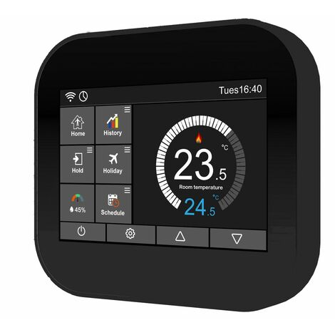WiFi Thermostat Digital LCD WLAN Touch Display Raumthermostat Fußbodenheizung