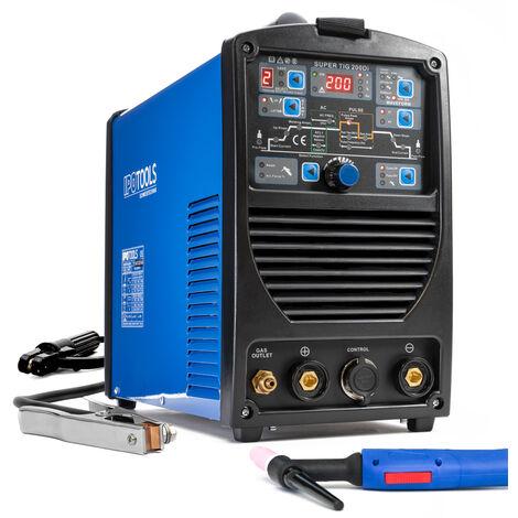 WIG IGBT Inverter IPOtools AC/DC SUPER TIG-200Di Pulse HF + MMA TOP !!!