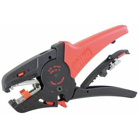 Wiha Abisolierwerkzeug automatisch bis 16mm² in Blister - 42062