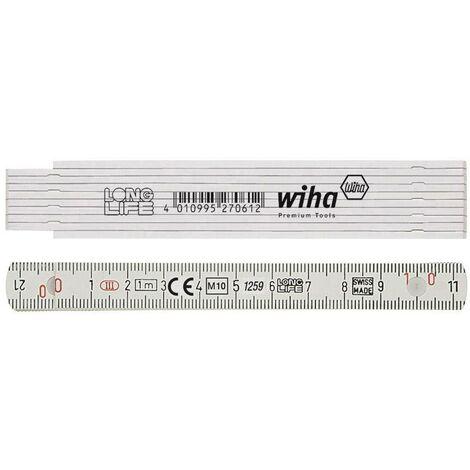 Mètre pliant en plastique Longlife® C95595