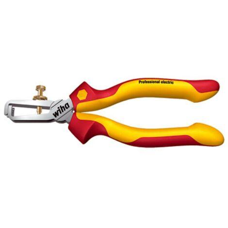 Wiha Professional electric 26847 VDE-Abisolierzange 10mm² (max) C71534