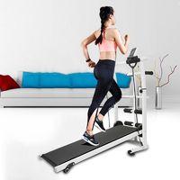 Wihobby TAPIS DE COURSE TAPIS DE MARCHE 3 EN 1 Appareil de Fitness Puissance Mécanique Pure