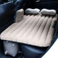 Couch clair Voyage Seat Voiture Matelas Gonflable Retour Lit Camping Wihobby Air SUV Gris Universal lFuT1JKc35