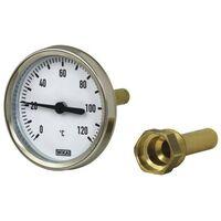 """Wika Bimetall-Zeigerthermometer, 1/2"""", 0-120°C, waagerecht"""