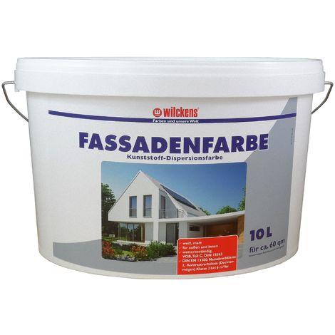 Wilckens Fassadenfarbe Weiß 10 L13391000_110