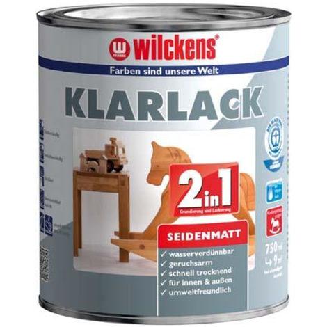 Wilckens Klarlack 2in1, 375 ml seidenmatt