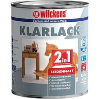 Wilckens Klarlack 2in1, 375 ml seidenmatt