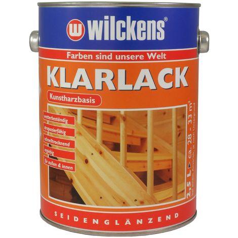 Wilckens Klarlack seidenglänzend Farblos 2,5 L10001000_080