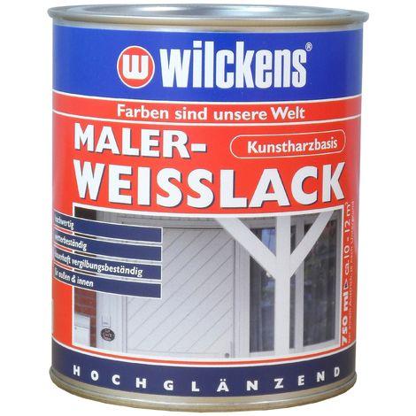 Wilckens Maler-Weisslack Weiß 0,75 L11091200_050