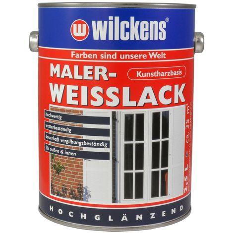 Wilckens Maler-Weisslack Weiß 2,5 L11091200_080