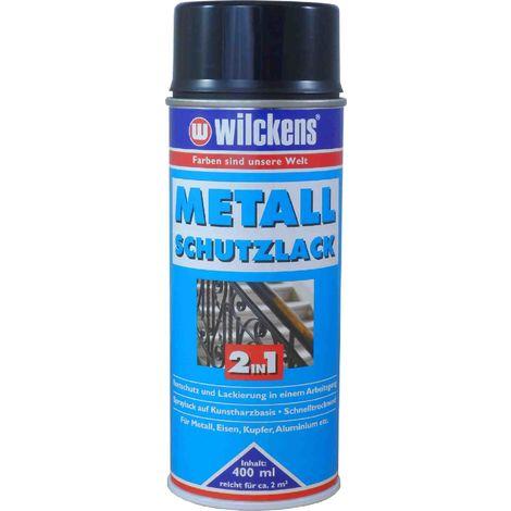 WILCKENS Metall-Schutzlack Spray 2in1 400ml schwarz15990500_140