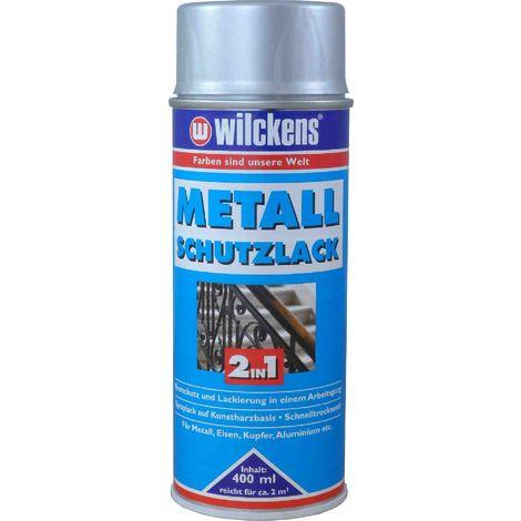 WILCKENS Metall-Schutzlack Spray 2in1 400ml silber15990600_140