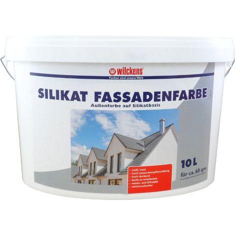 Wilckens Silikat Fassadenfarbe Weiß 10 L13395000_110
