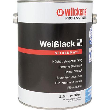 Wilckens Weißlack seidenmatt, 2,5L