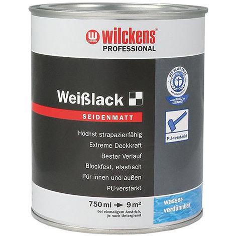 Wilckens Weißlack seidenmatt,750ml