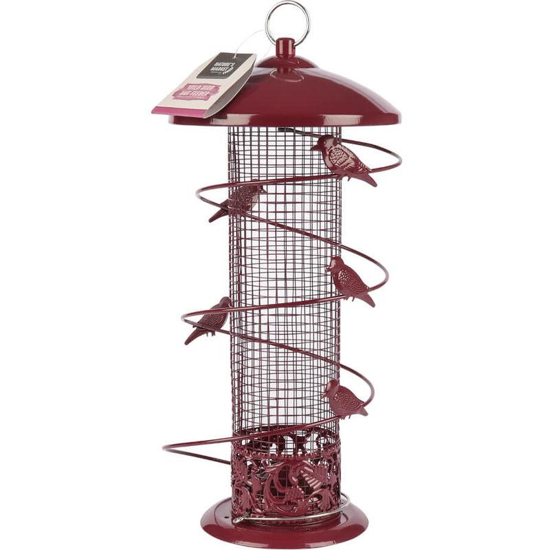 Image of Kingfisher - Wild Bird Feeder Nuts Maroon