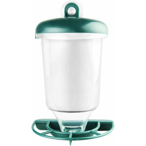 "main image of ""Wild Bird Feeders Plastic Hanging Bird Feeder Bird Seed Feeder with Suction Cup Garden Bird Feeder"""